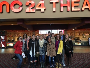 Rescuing Hope and friends going to see Caged No More.